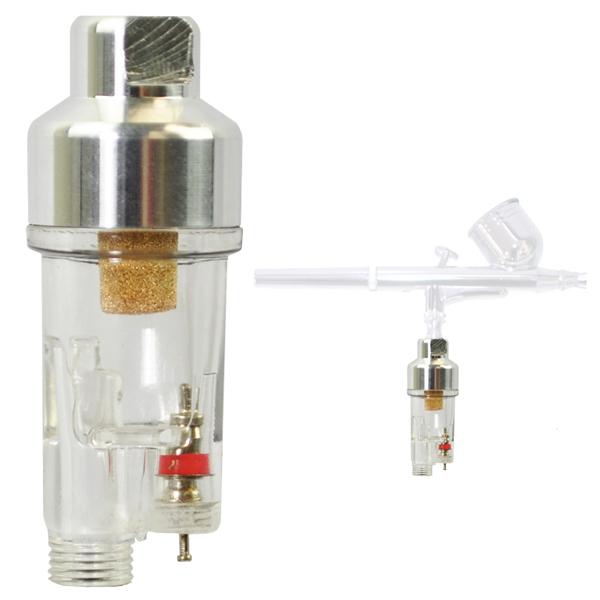 "TCP GLOBAL CORP AIRBRUSH MINI AIR FILTER Moisture Water Trap 1/8"" Fittings Hose Paint Spray Gun at Sears.com"