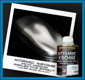 Details About HOUSE OF KOLOR KOSMIC KROME MC00 MC 00 CHROME PAINT 8oz