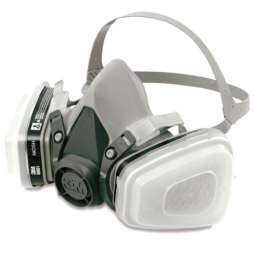 3m 7193 dual cartridge respirator mask spray auto paint ebay