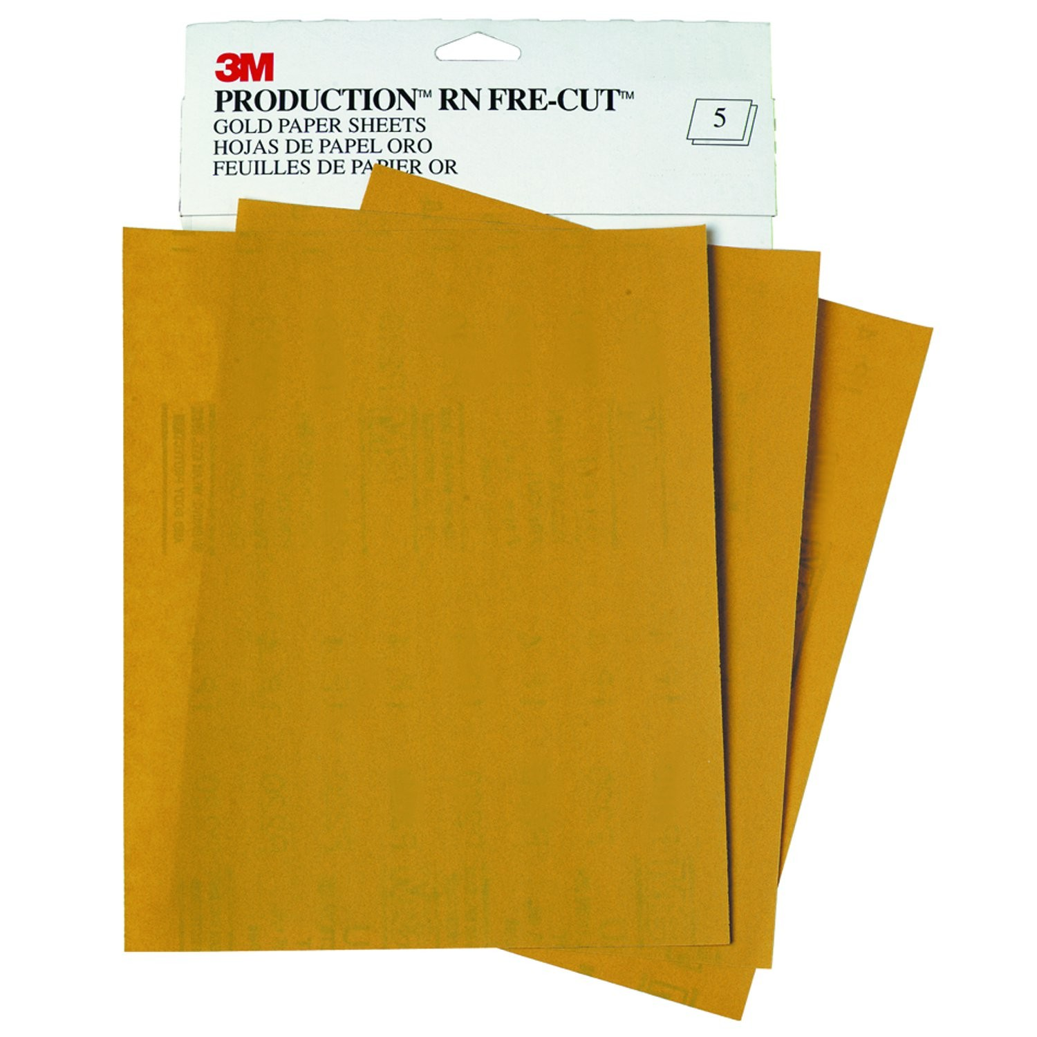 3M 9X11 P400 Grit Gold Sheet Sand Paper #02539 Sleeve at Sears.com