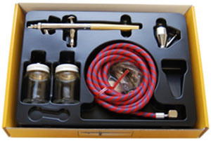 Talon Gravity Feed Airbrush Set