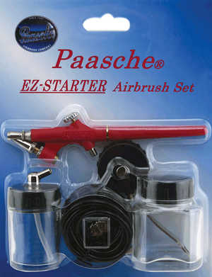 Paasche Airbrush Cake Decorating : Paasche EZ-STARTER AIRBRUSH SET-KT-Beginner-Hobby-Craft eBay