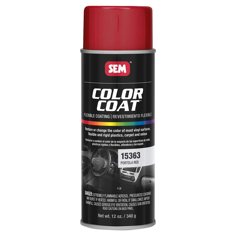 sem color coat portola red vinyl spray auto paint. Black Bedroom Furniture Sets. Home Design Ideas