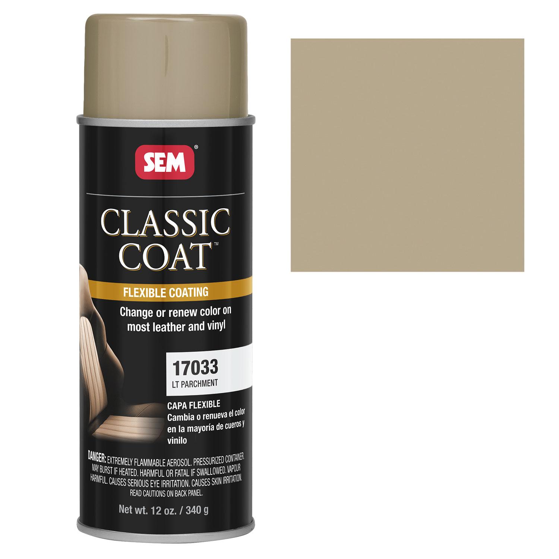 Sem Classic Coat Lt Parchment Vinyl Leather Spray Paint Ebay