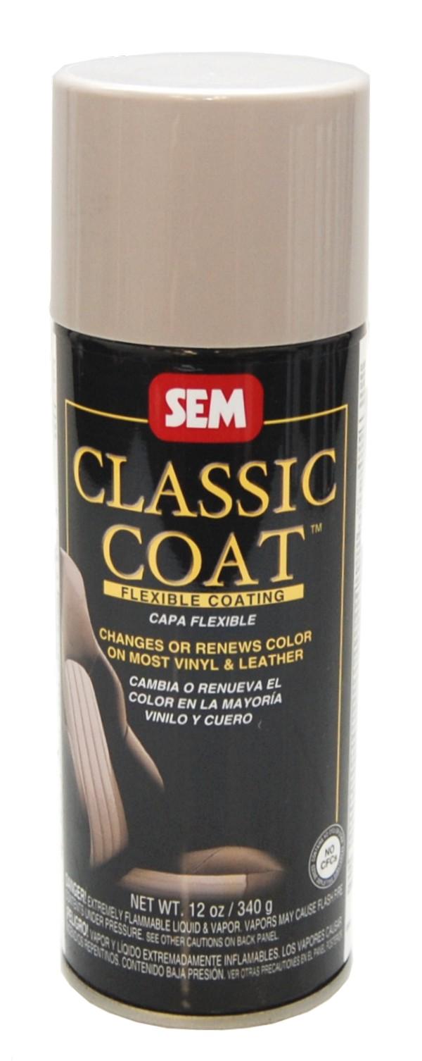 Sem Classic Coat Lt Taupe Vinyl Leather Spray Car Paint