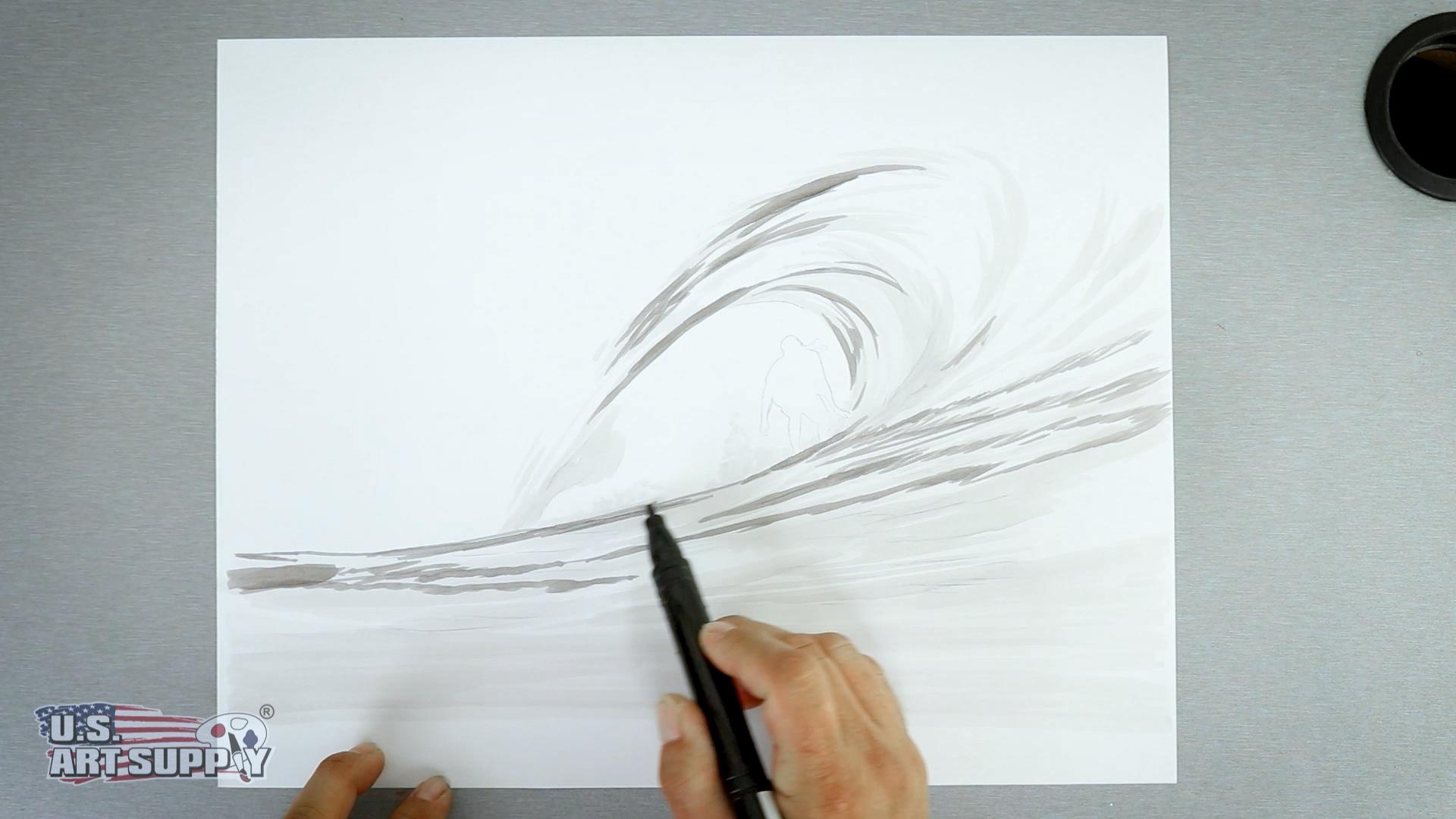 sketch warm gray