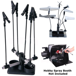 ALMIGHTY CLIPSProject Holder and Airbrush Spray Stand