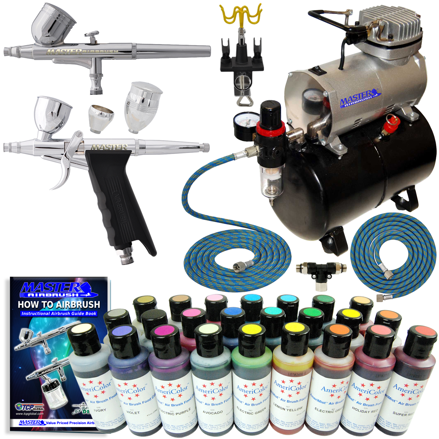 Airbrush For Cake Decorating : Part# ABD KIT-CAKE-20T