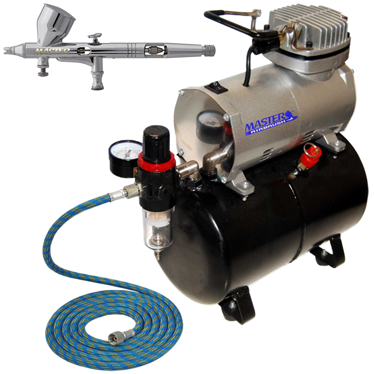 Professional master airbrush fine detail control for Car paint air compressor