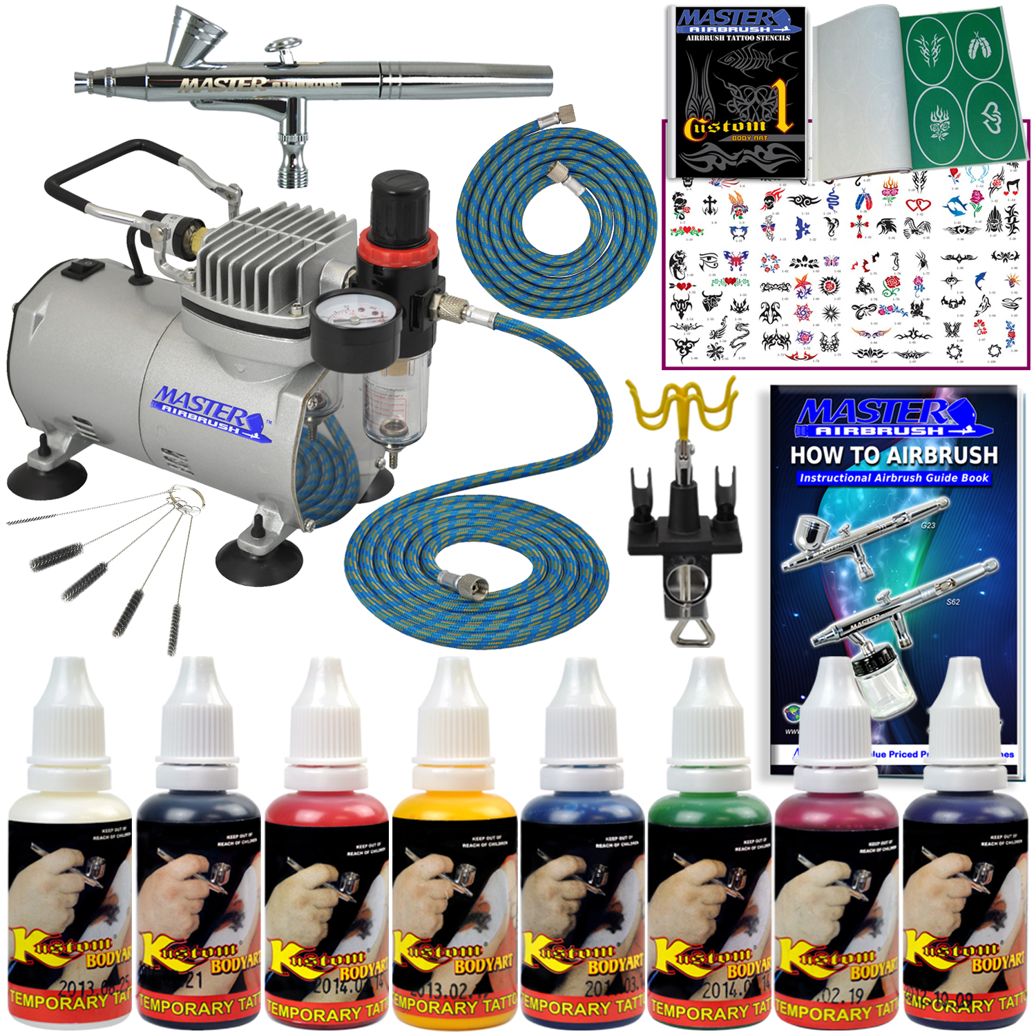 Part abd kit sp13 20 for Airbrush tattoo paint