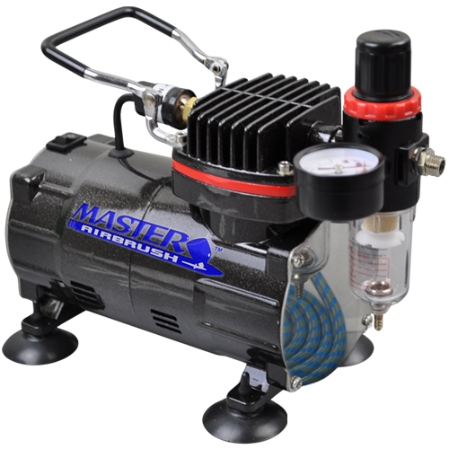 Our most popular single piston compressor provides air for Car paint air compressor