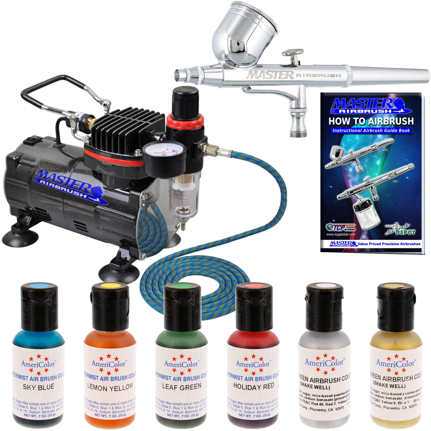 Airbrush For Cake Decorating : Bakery crafts airbrush compressor
