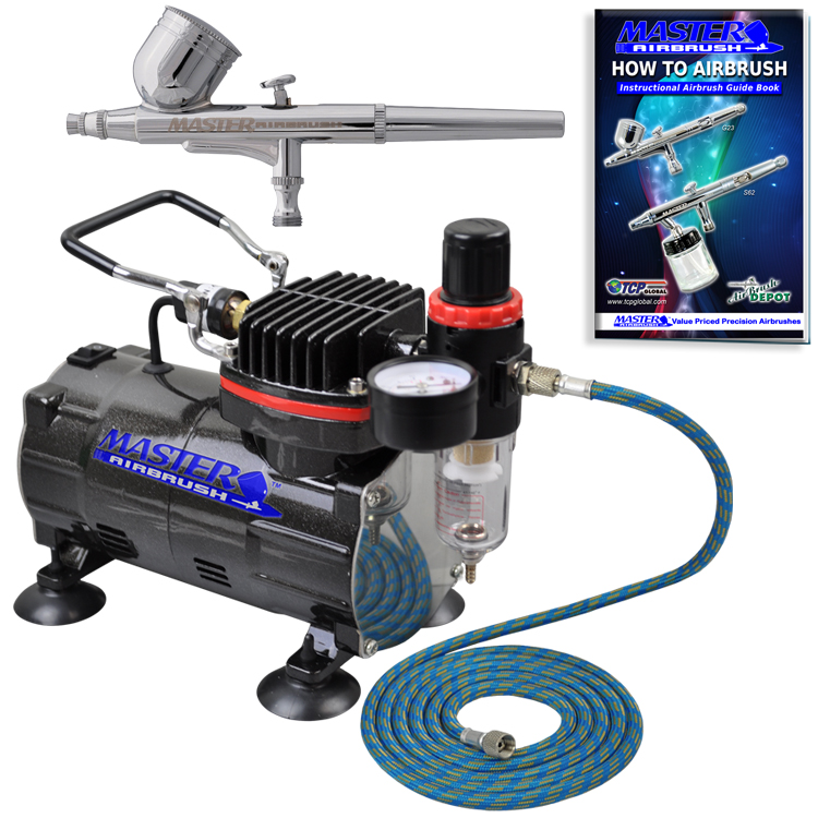 Professional master airbrush multi purpose gravity feed for Car paint air compressor