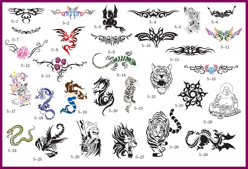 Label: chinese symbol tattoos,