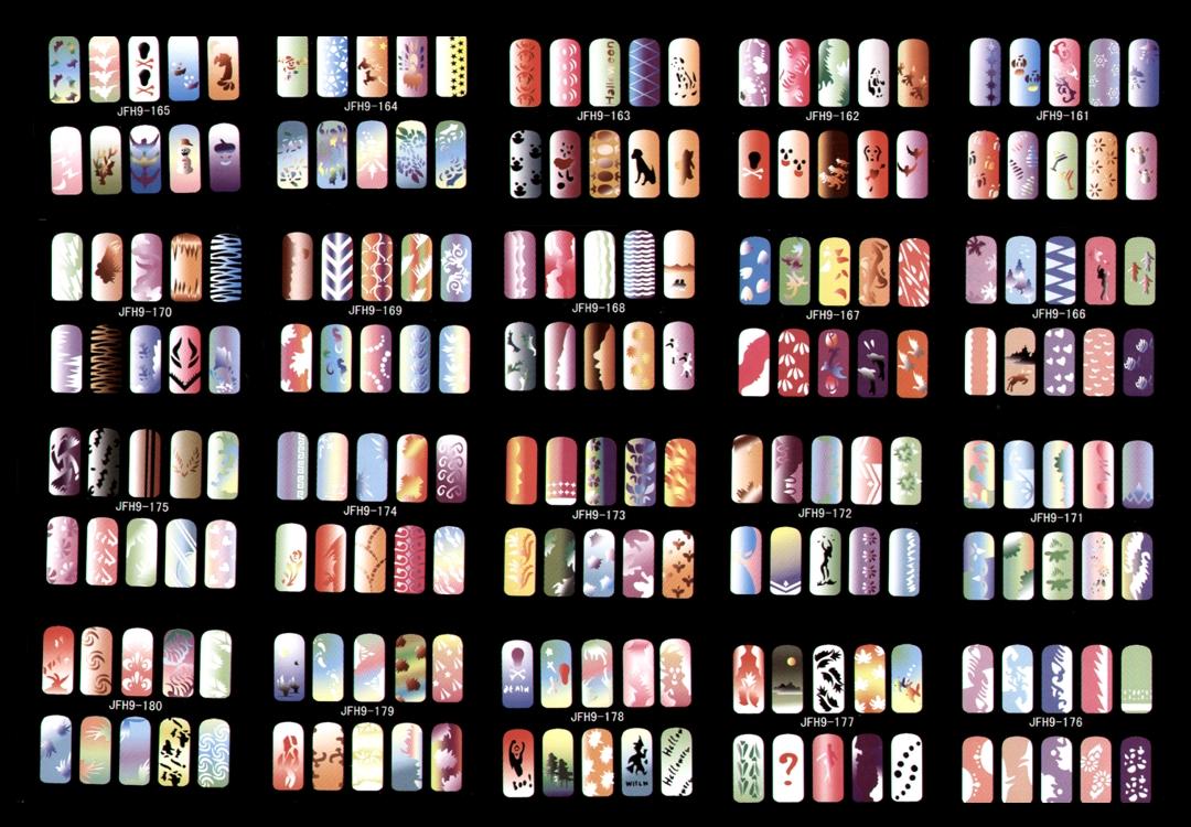 Magic cat airbrush nail design nail art design from coolnailsart