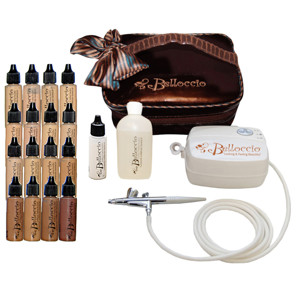 ... part bel kit 16 belloccio 39 s plete professional airbrush cosmetic makeup system with a master ...