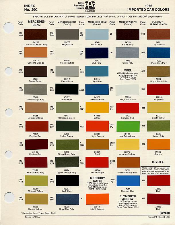 Ppg Paint Colors 100 Paint Color Chips Paint Chips