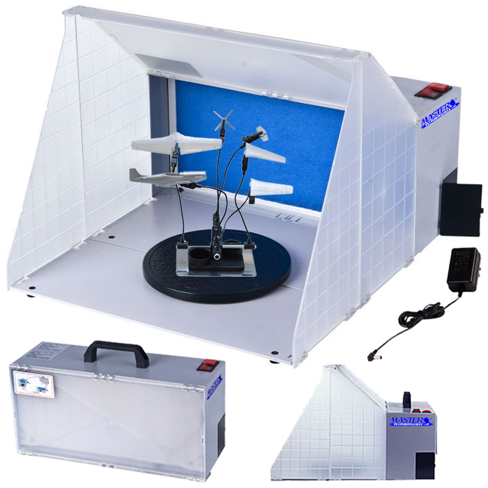 Portable Hobby Airbrush Paint Spray Booth Kit Oder ...