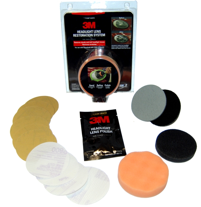 product review 3m headlight polish kit. Black Bedroom Furniture Sets. Home Design Ideas