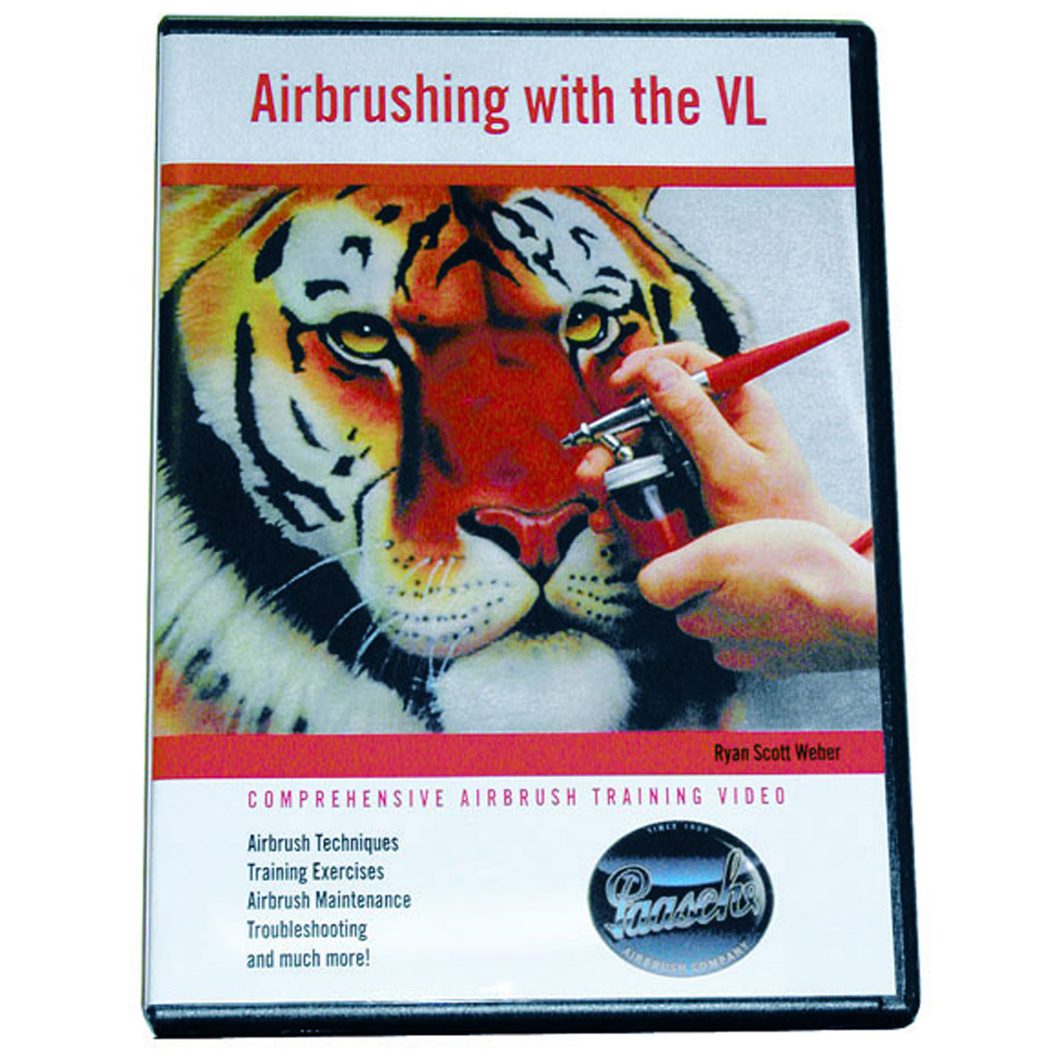 PAASCHE VL Airbrush Instructional DVD-Airbrushing Tips eBay