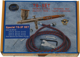 New Paasche TG-3F SET, Talon Gravity Feed Airbrush Set