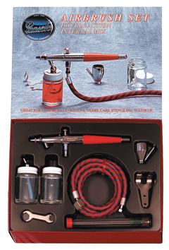 Versitile VL Airbrush Set, Favored by T-shirt artists