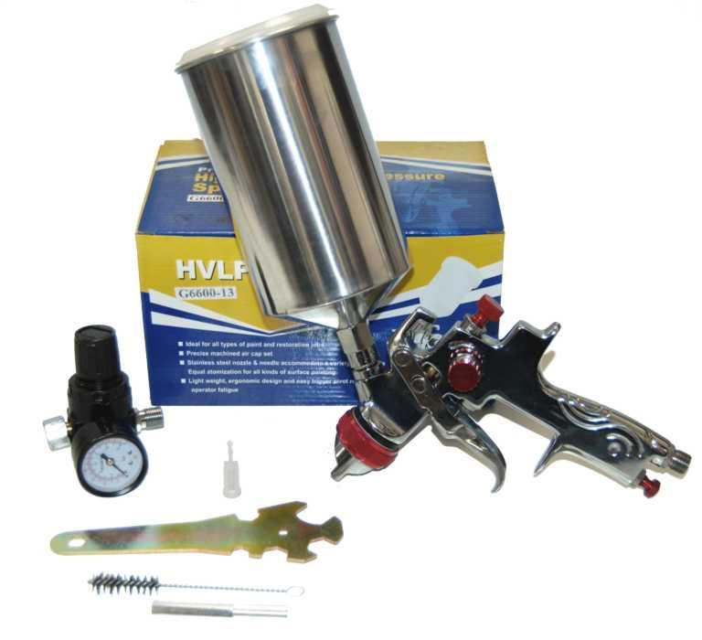 pro hvlp gravity feed spray gun air regulator auto paint primer. Black Bedroom Furniture Sets. Home Design Ideas
