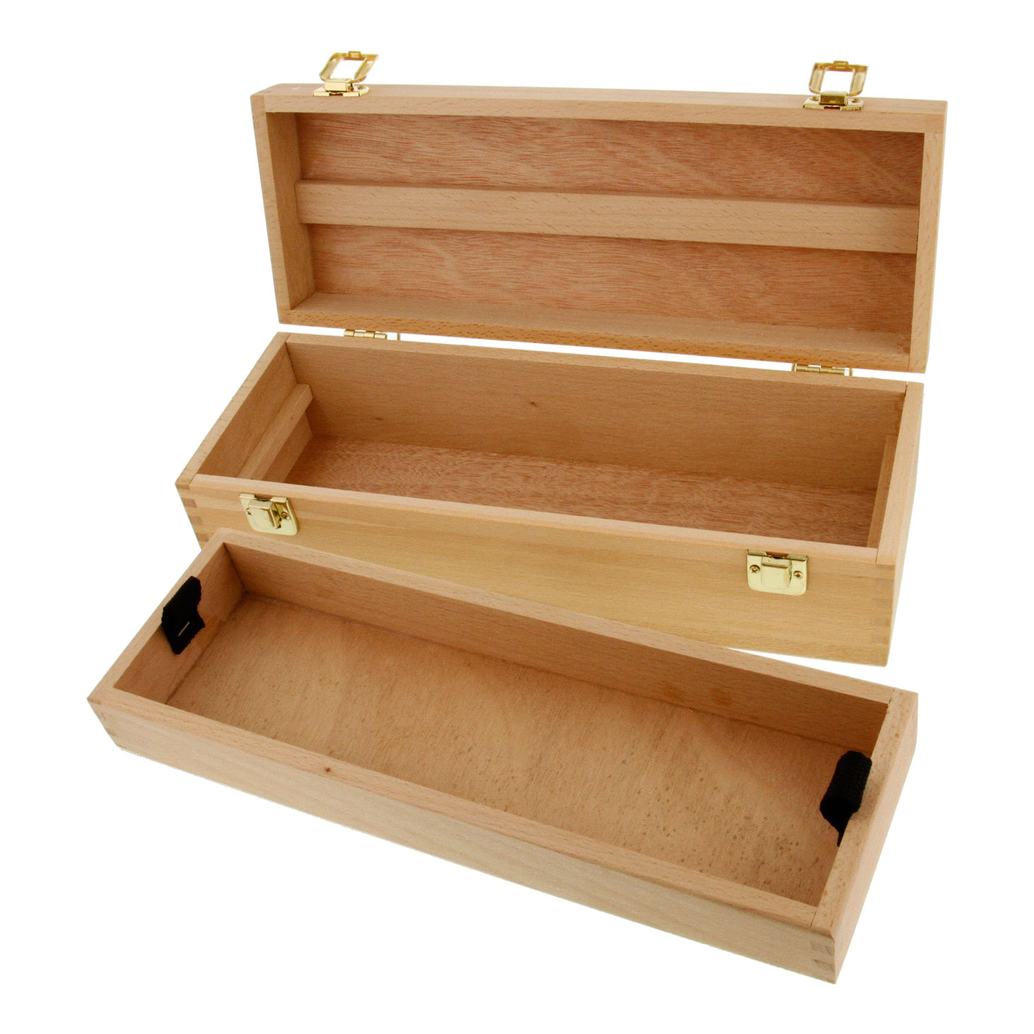 Very Impressive portraiture of  Artist Wood Pen Marker Storage Box w/ Drawer Medium Tool Box eBay with #130903 color and 1500x1500 pixels