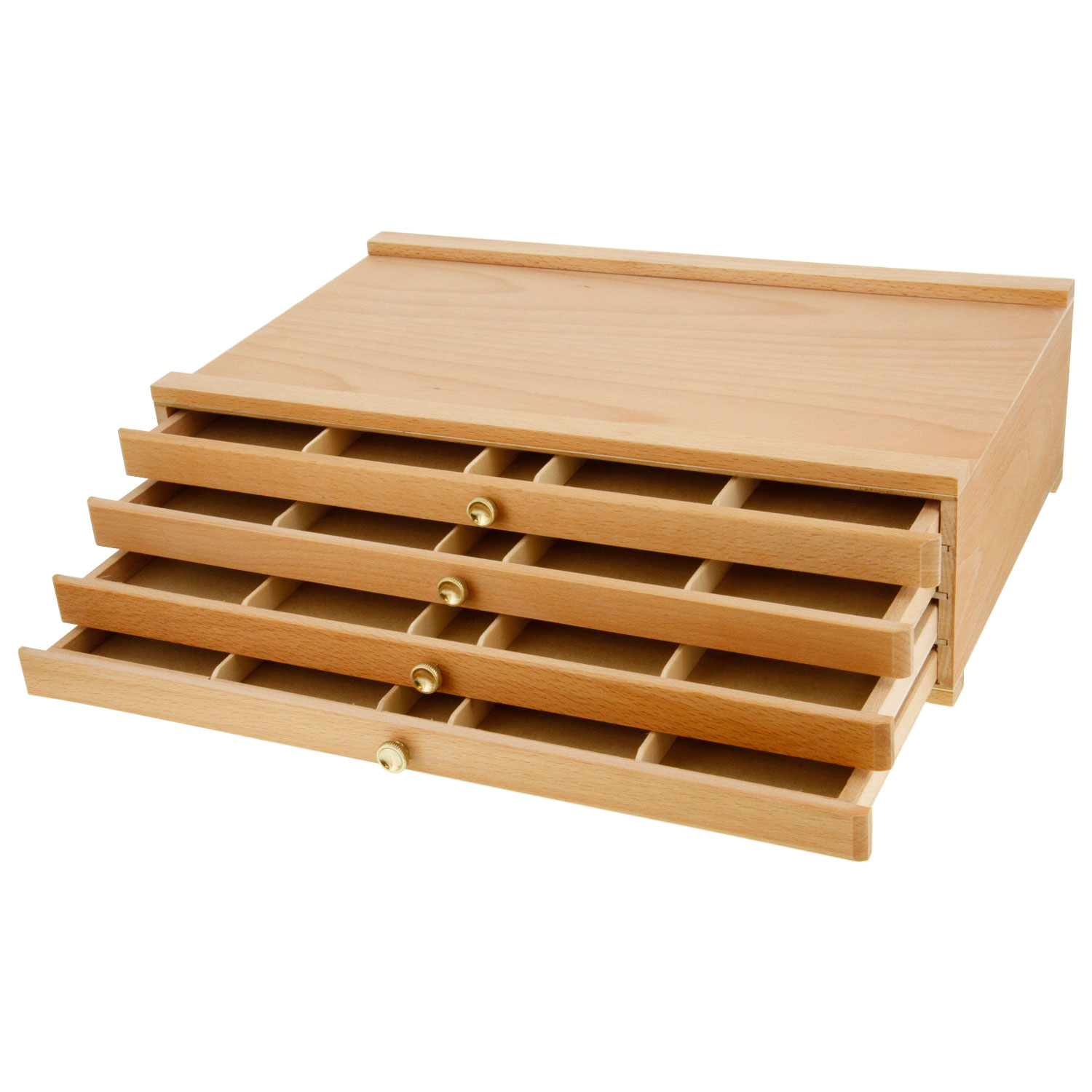 Very Impressive portraiture of  ® Artist Wood Pastel Pen Marker Storage Box with 4 Drawers eBay with #381804 color and 1500x1500 pixels