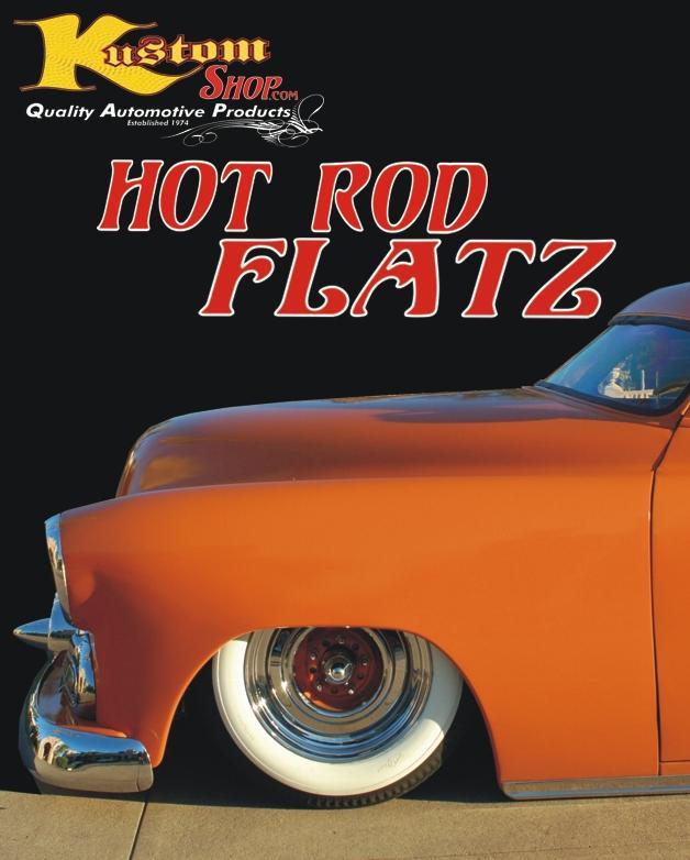 Hot Rod Flatz Color Chart Flat Auto Car Paint Chips Rat