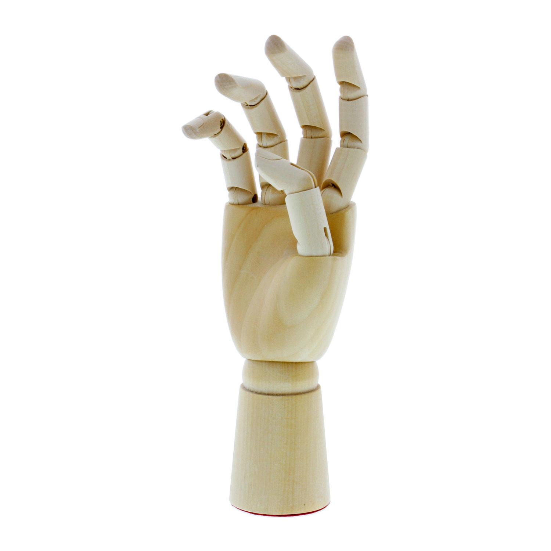 "US Art Supply 5/"" Male Manikin Wooden Art Mannequin Figure"