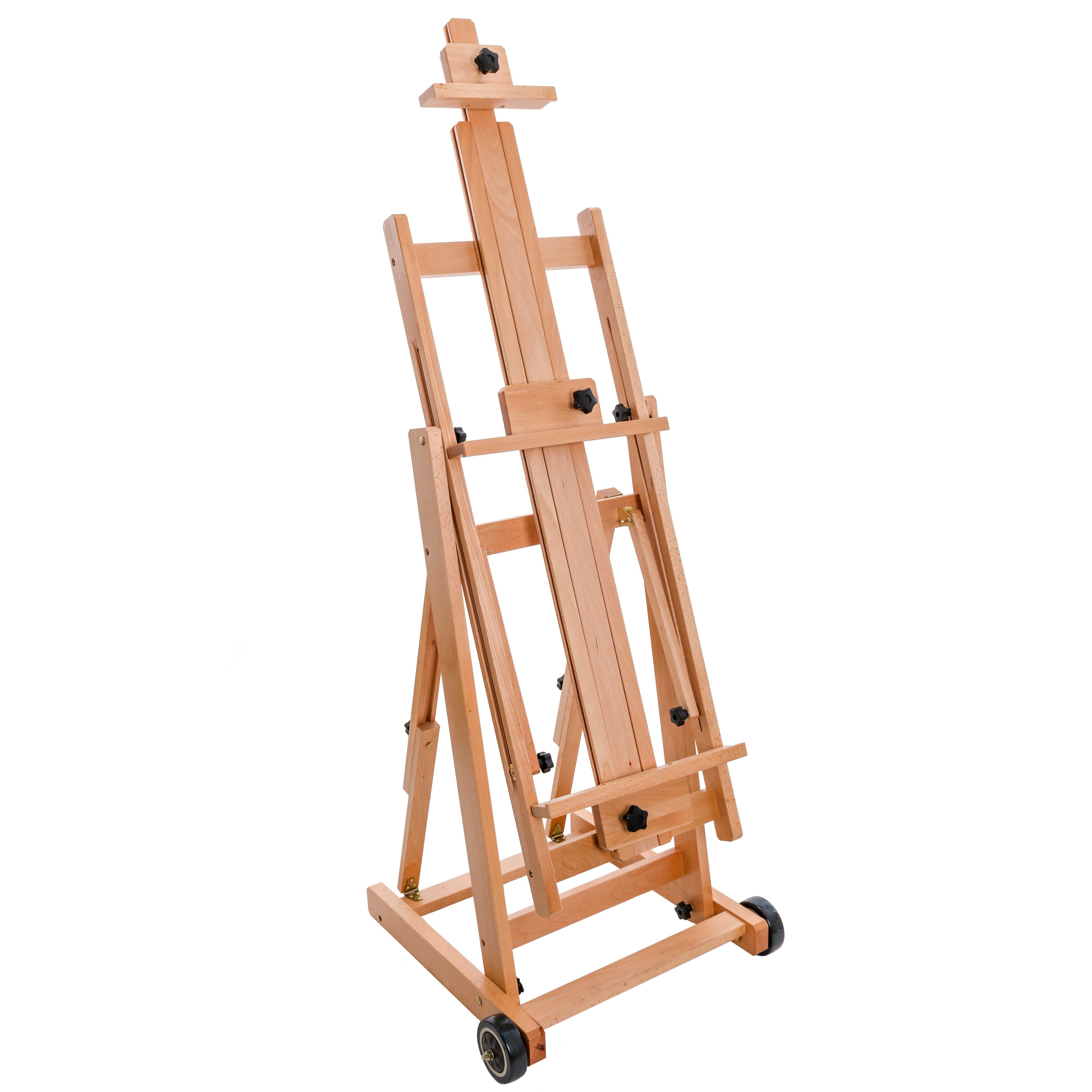US Art Supply MINI Wood Studio Adjustable Artist H-Frame Table Easel Painting