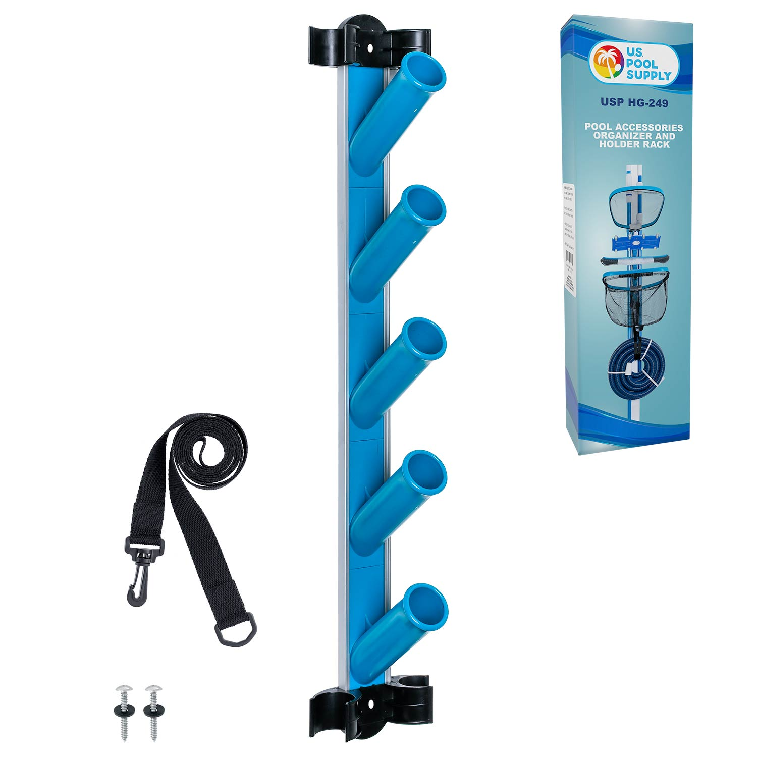Pool Cleaning Accessory Organizer