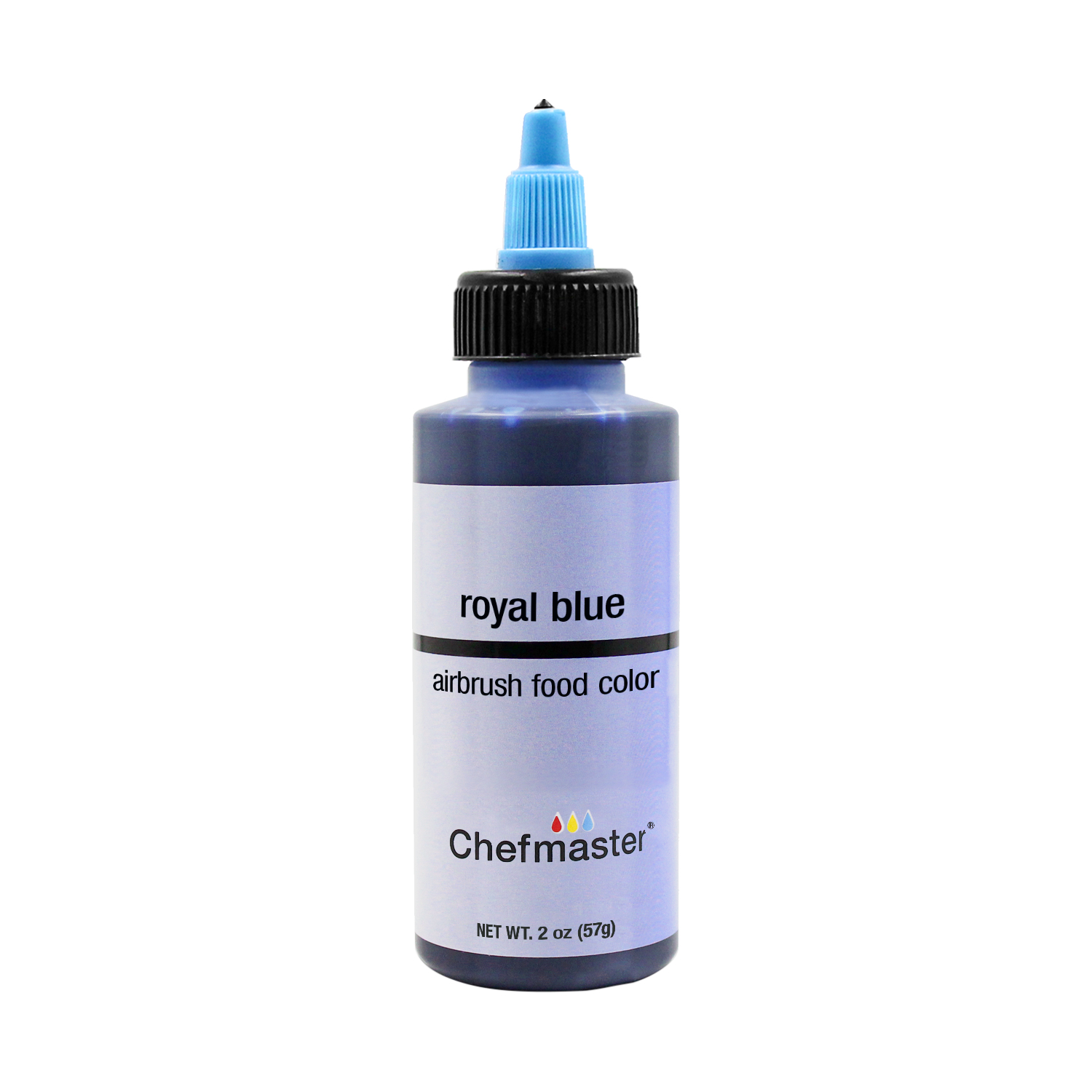 Details about Chefmaster 2-Ounce Royal Blue Airbrush Cake Decorating Food  Color