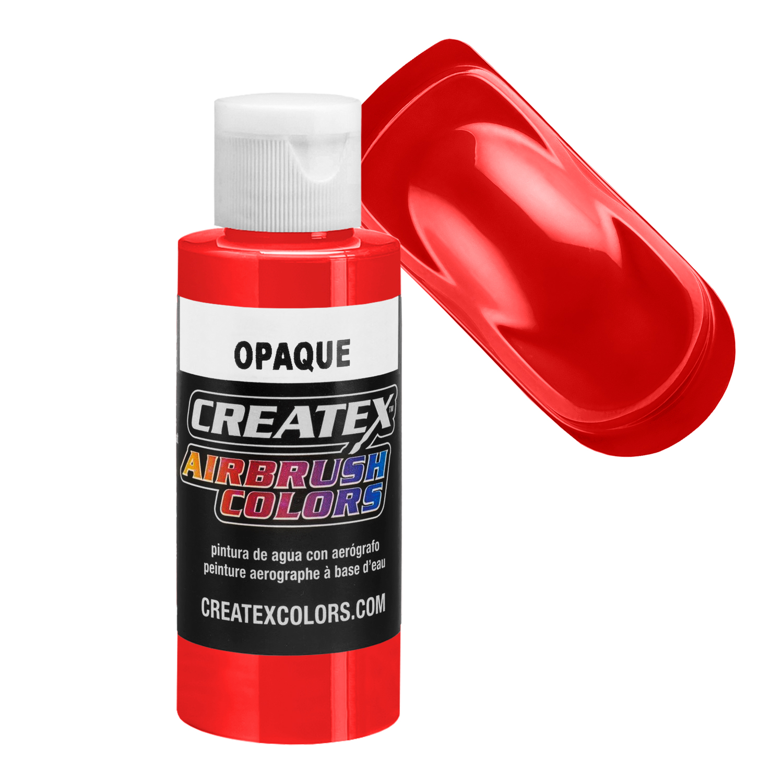 Peinture CREATEX A/érographe Colors Opaque 5210 Red