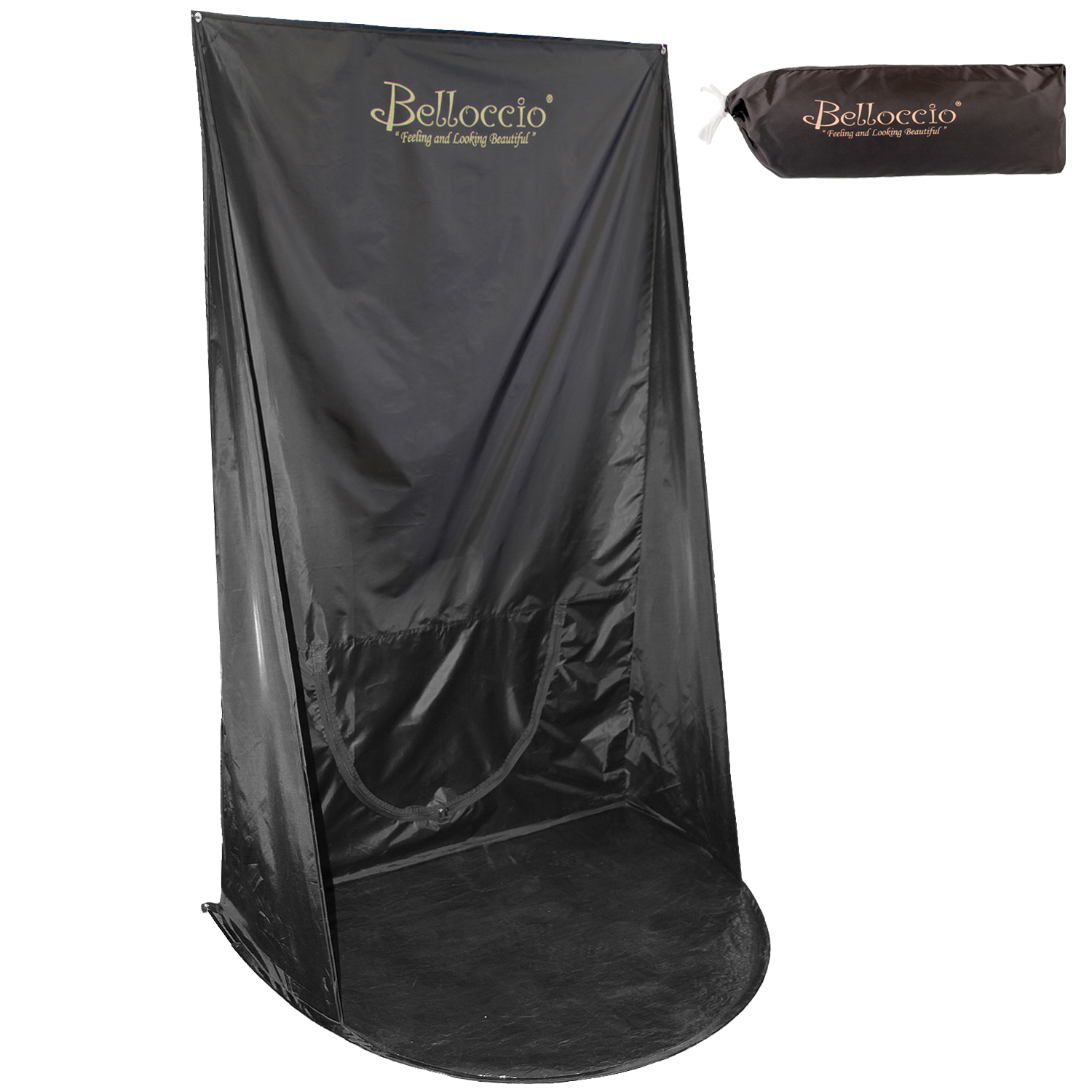 Belloccio Airbrush Sunless Spray Tanning Curtain Backdrop